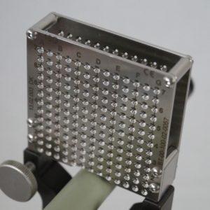 Nadelführung Edelstahl-Template Größe 18G, wiederverwendbar, auf Gelenkarm