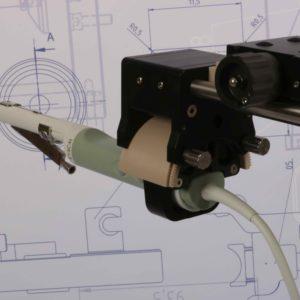MTT Nadelführung 42 Grad von MTT für die BK Ultrasound Schallköpfe 8818 / 8808e